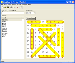 Word Search Printer - Screenshot 3